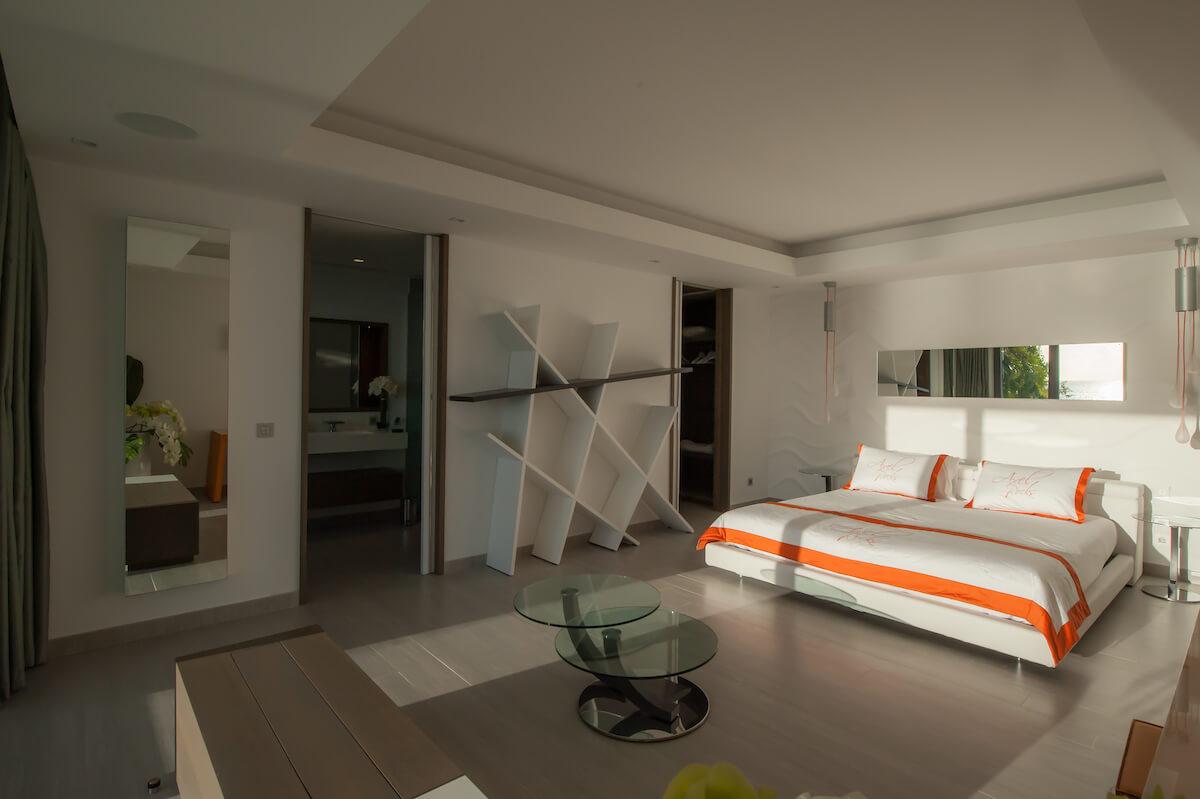 Décoration intérieure chambre luxe