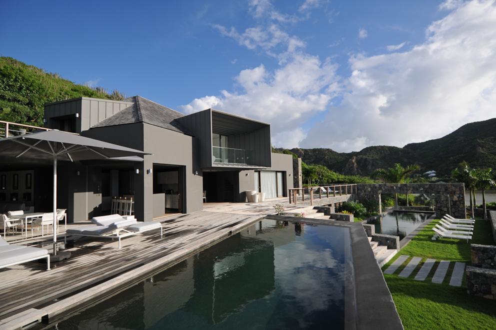 Villa avec piscine Saint Barth