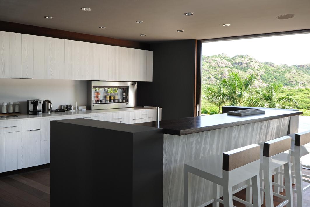 Cuisine design d'intérieur villa