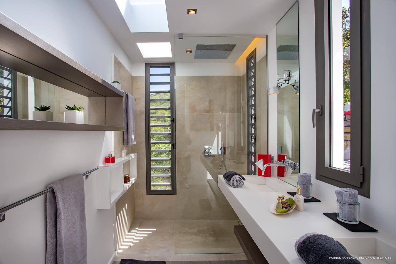Salle de bain design St Barth