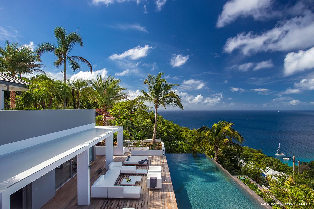 Villa d'architecte aux Caraïbes