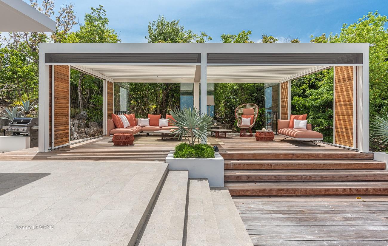 Villa Palm Springs pergola