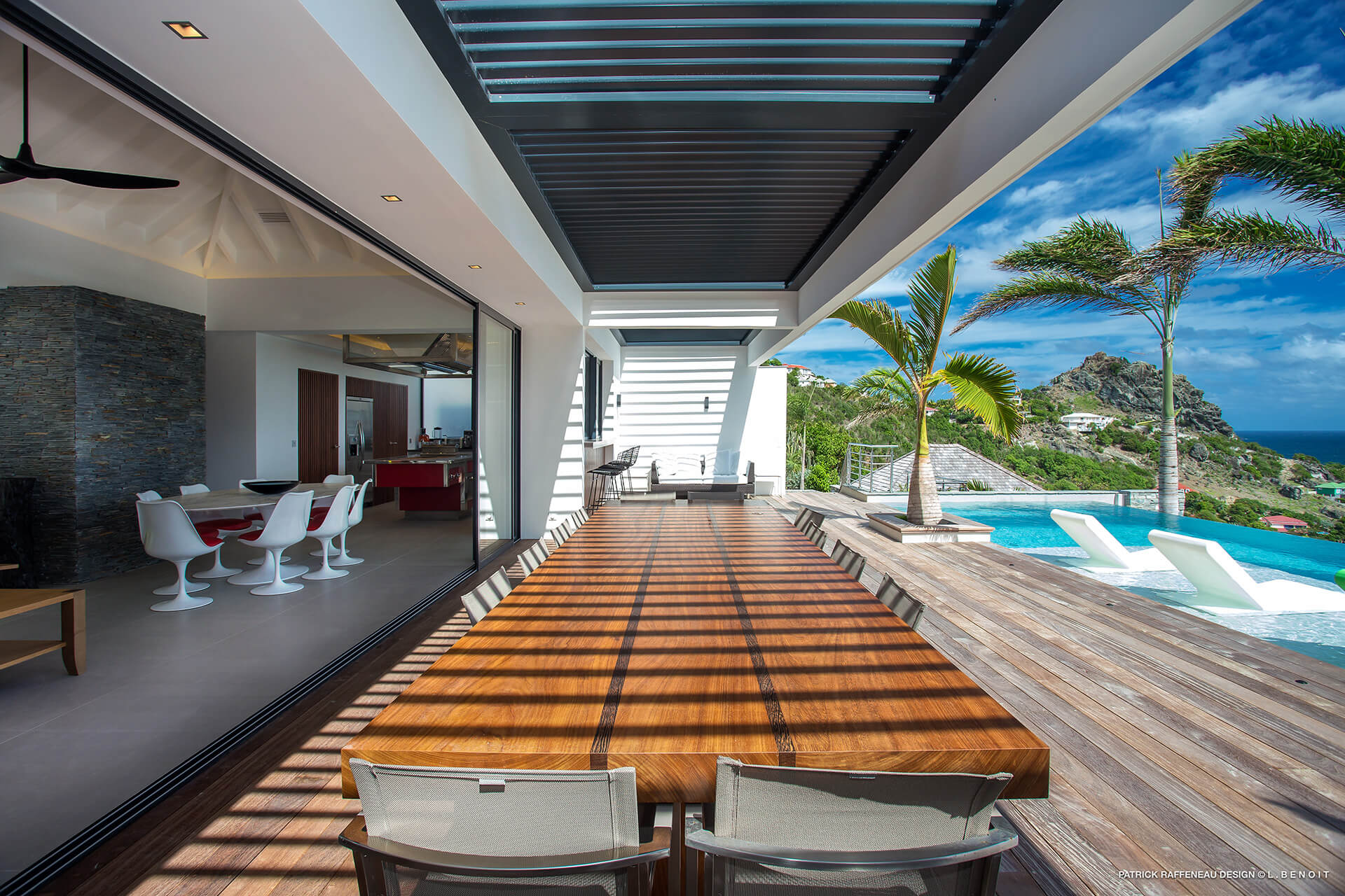 Design interieur luxe saint barth